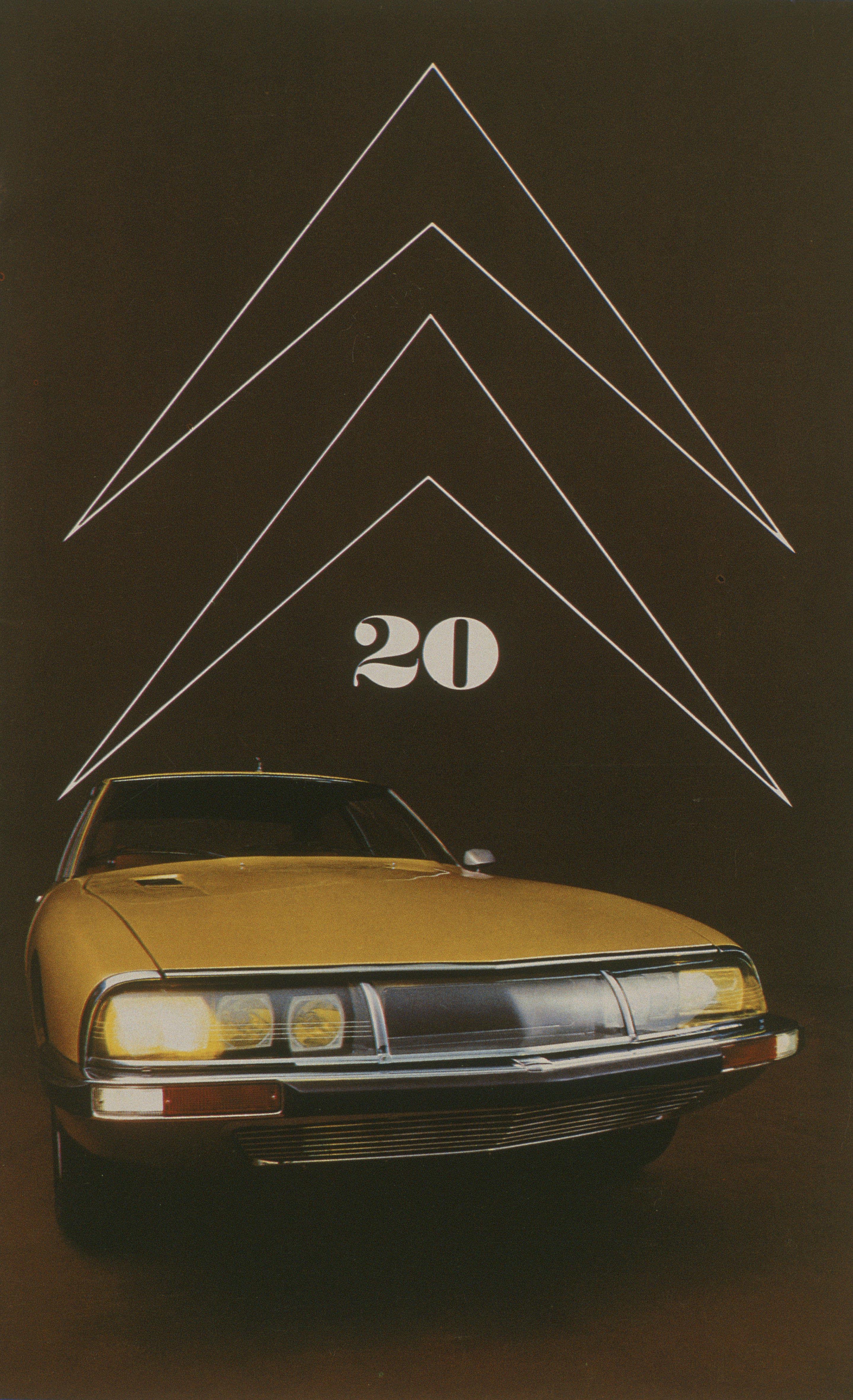 Double Chevron n°20 - SM - 1970