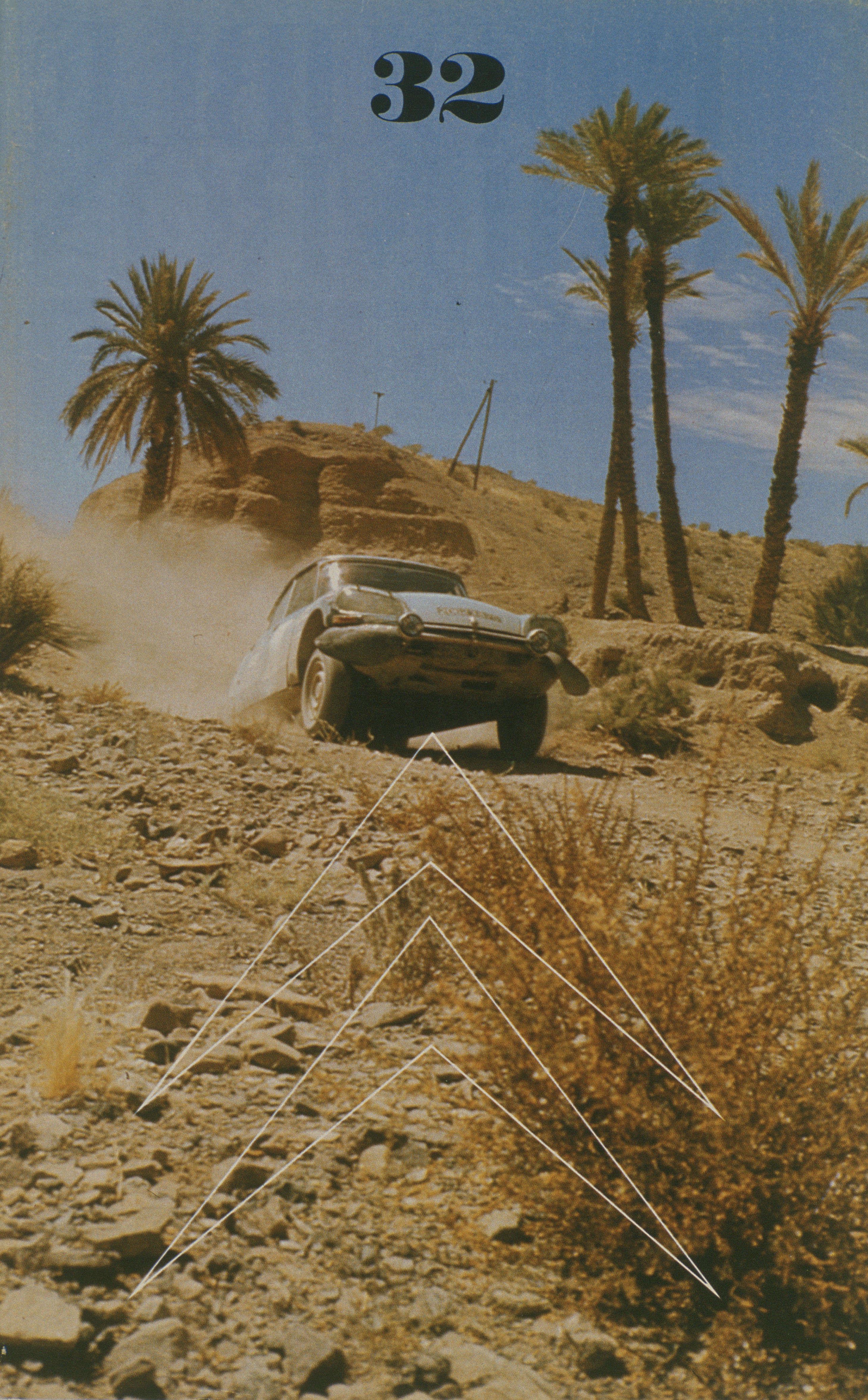 Double Chevron n°32 - 1973 - DS