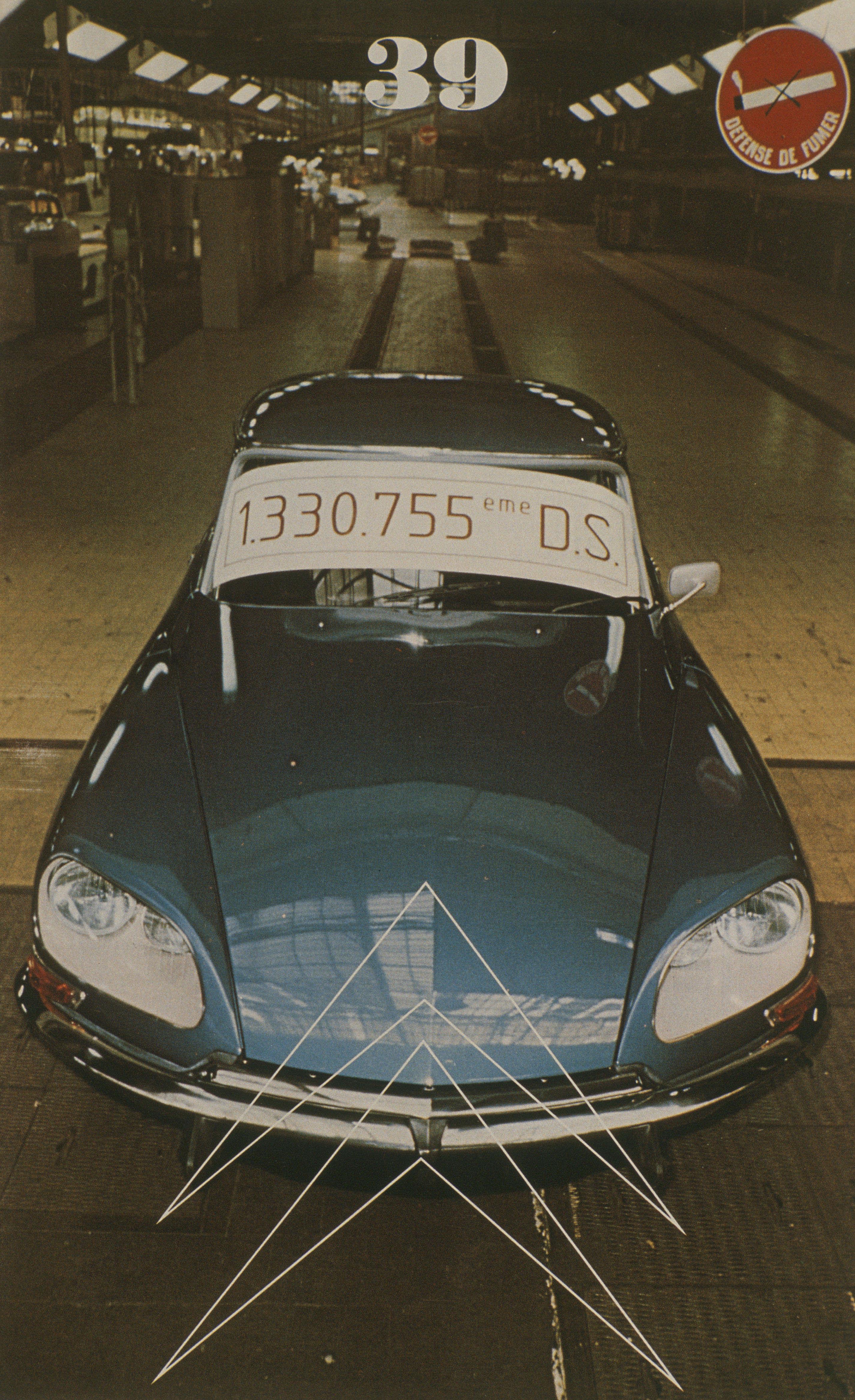 Double Chevron n°39 - 1974 - DS