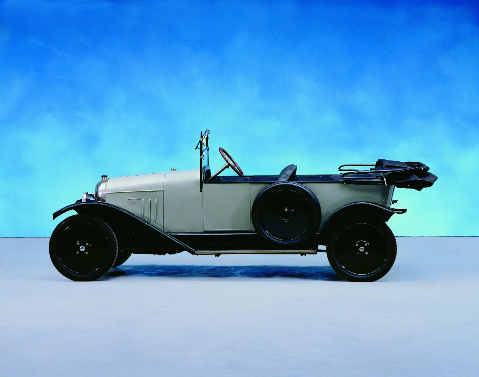 10 HP Type A Torpédo 1919 sivunäkymä