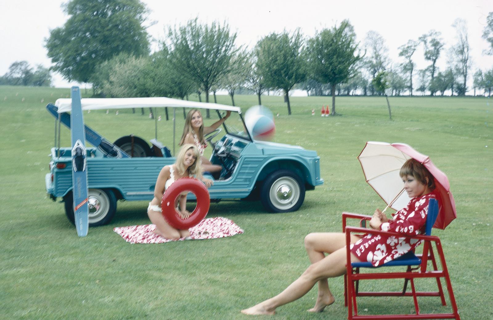 1968 Mehari à Deauville la plage