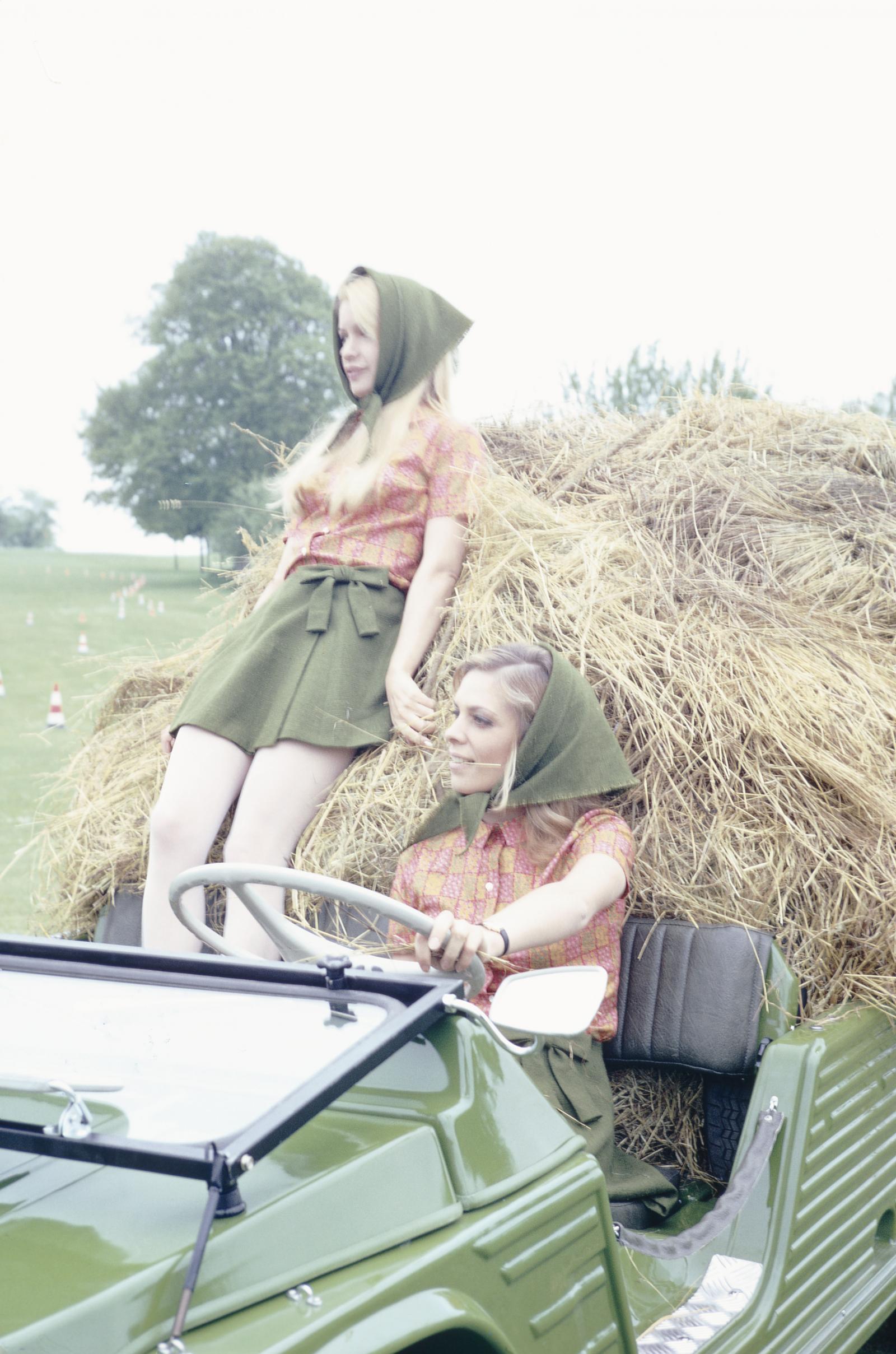 1968 Mehari et fermières