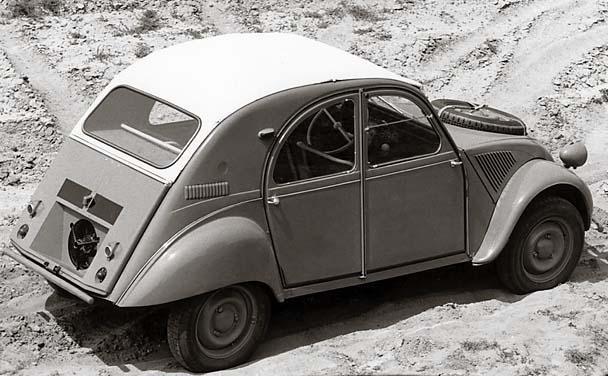 2CV 4x4 Sahara 1960