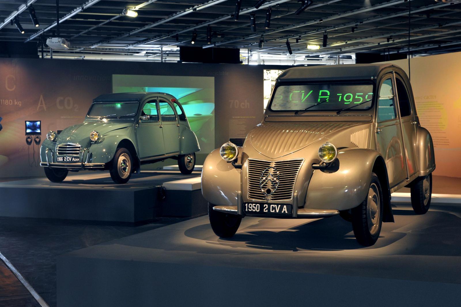 2CV A 1950 et 2CV AZAM 1966