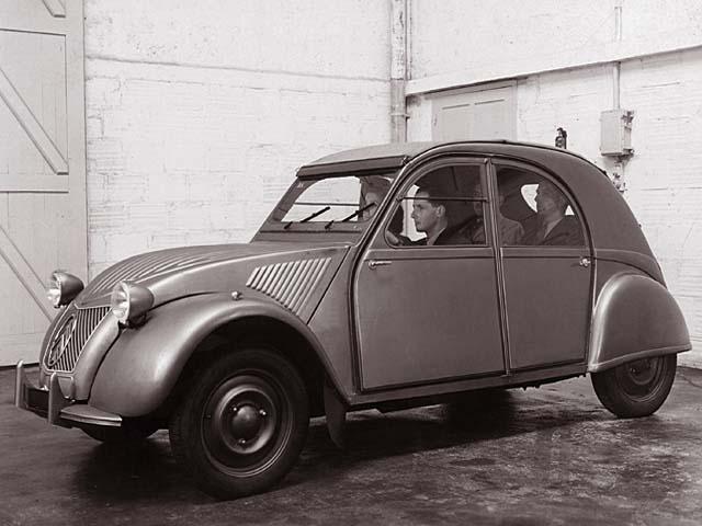 2CV A pré-série 1948