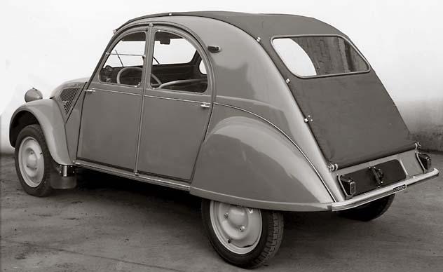 2CV AZL 1957