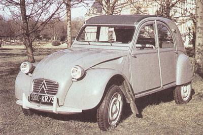 2CV AZLM 1961