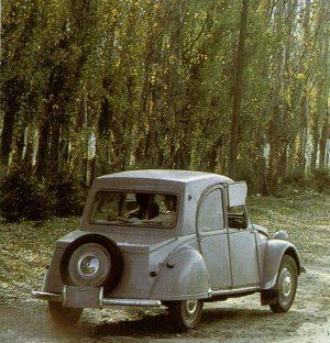 Citroneta 1960 modèle du Chili