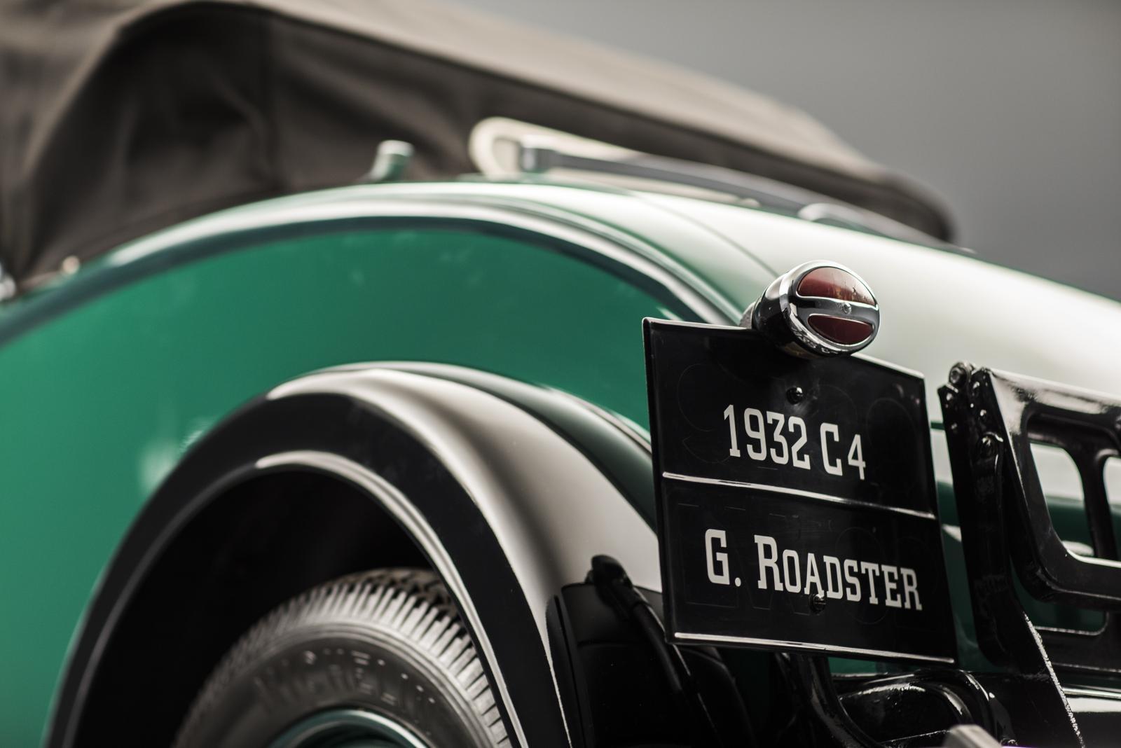C4G Roadster - 3/4 traseiro