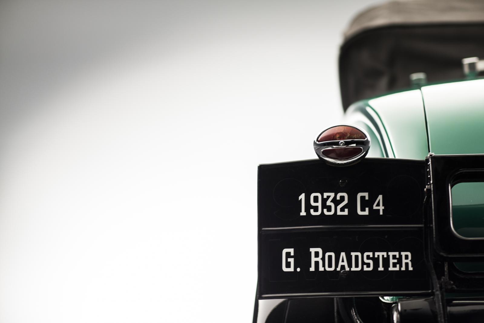 C4G Roadster - vista dianteira