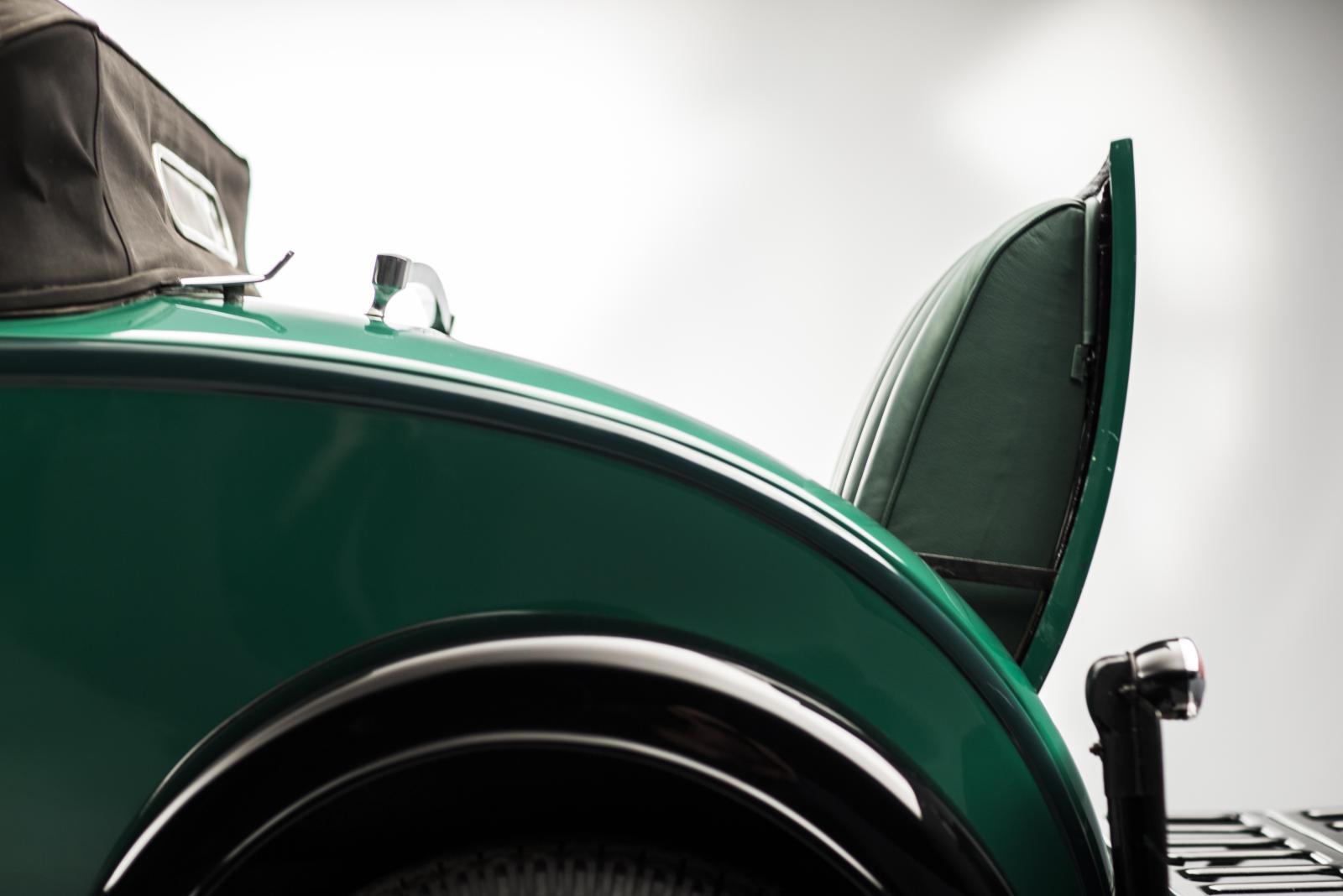 C4G Roadster - banco traseiro