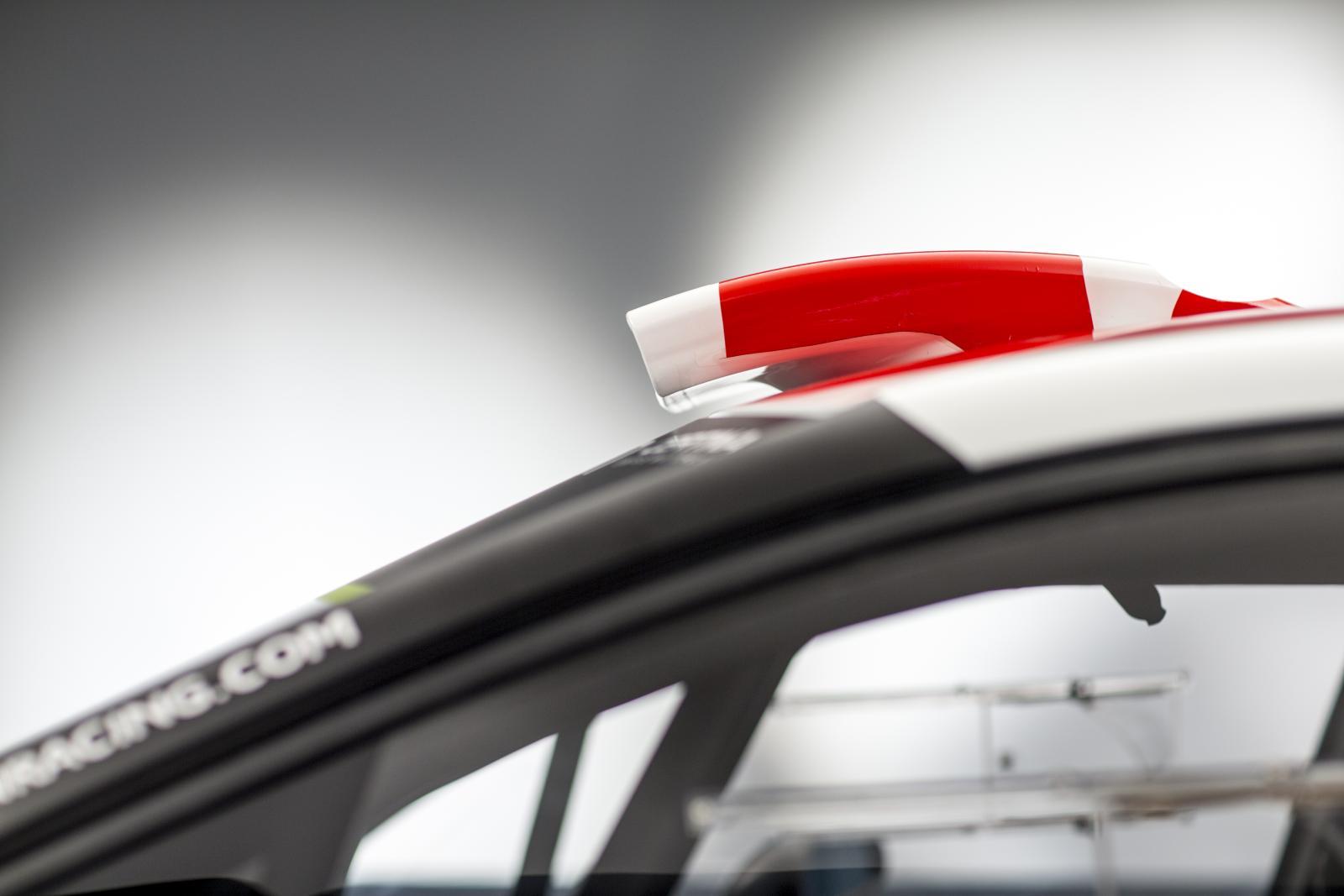 C3 WRC - vidro dianteira