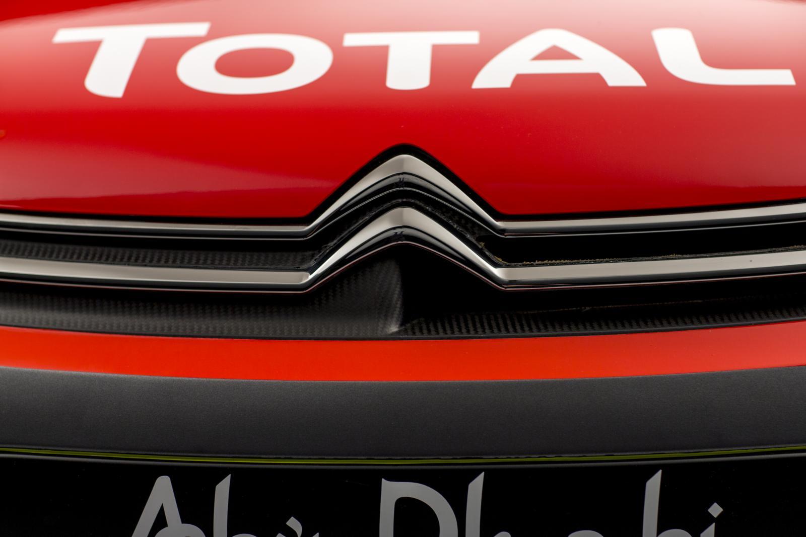 C3 WRC - grelha dianteira de viatura