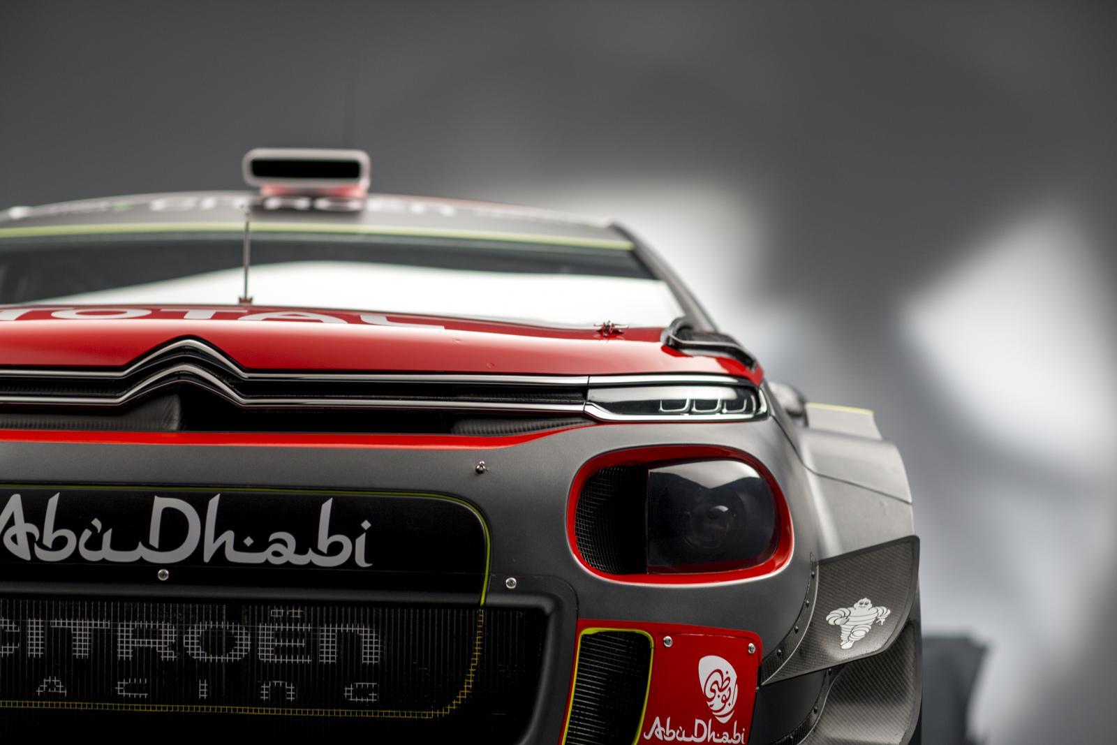 C3 WRC - vista de frente