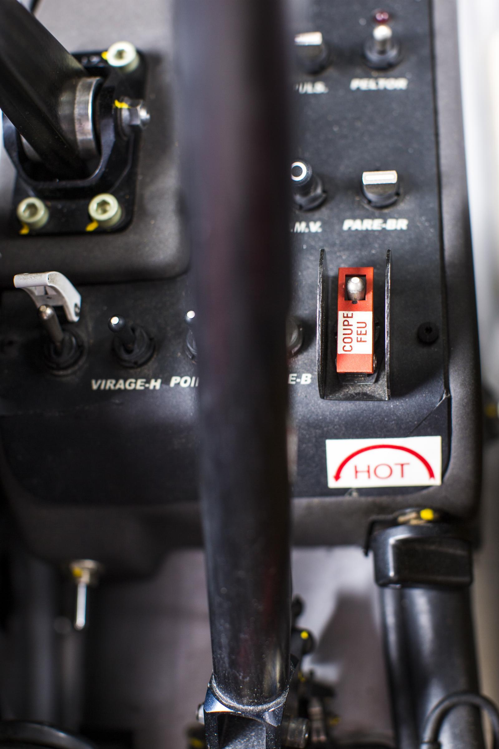 Xsara WRC commandes