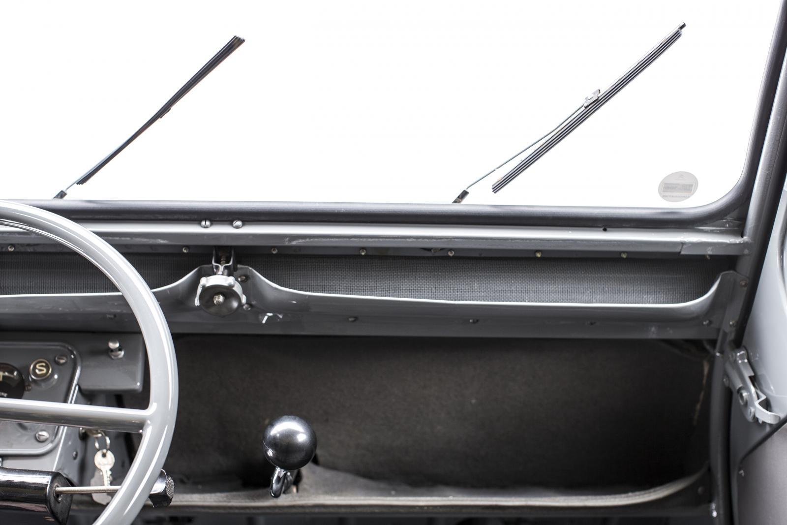 2CV Fourgonnette planche de bord