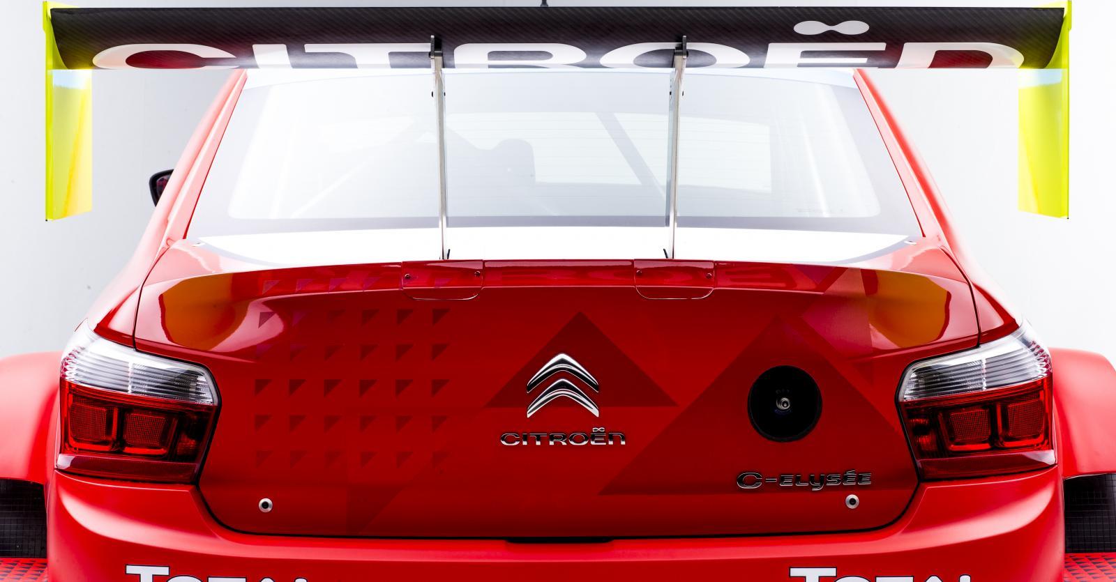 C-Elysée WTCC 2016 aileron arrière