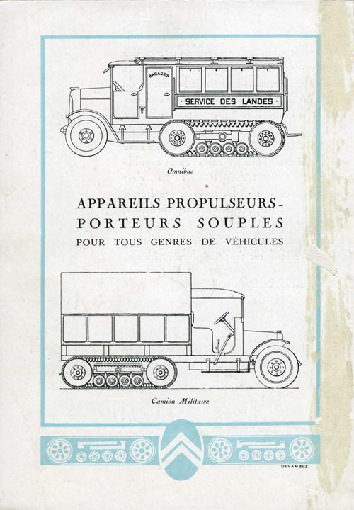 Appareils Propulseurs - Citroën