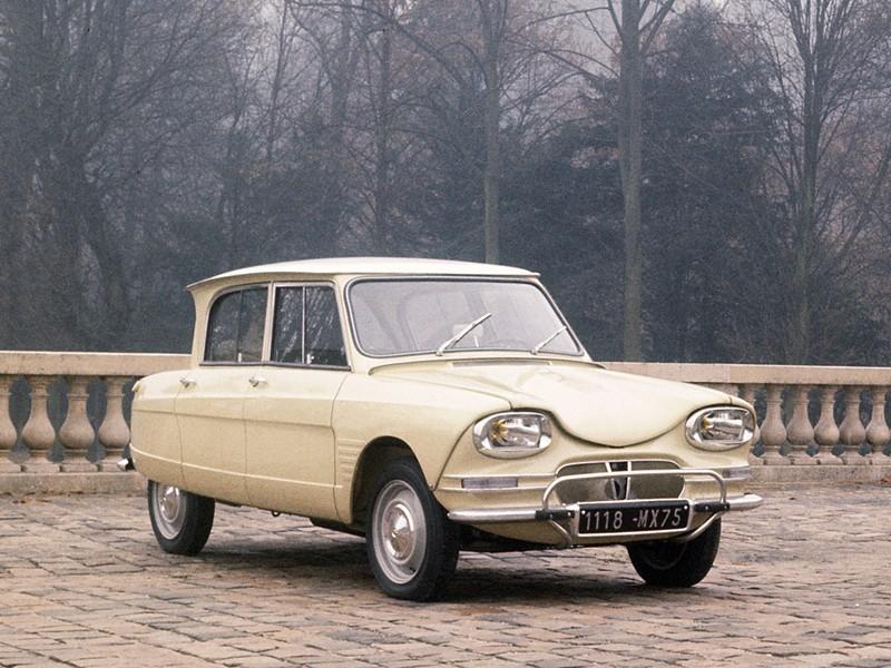 AMI 6 berline 1963 3/4 avant