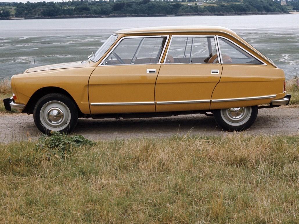 AMI 8 Berline 1969 profil littoral remplace AMI 6