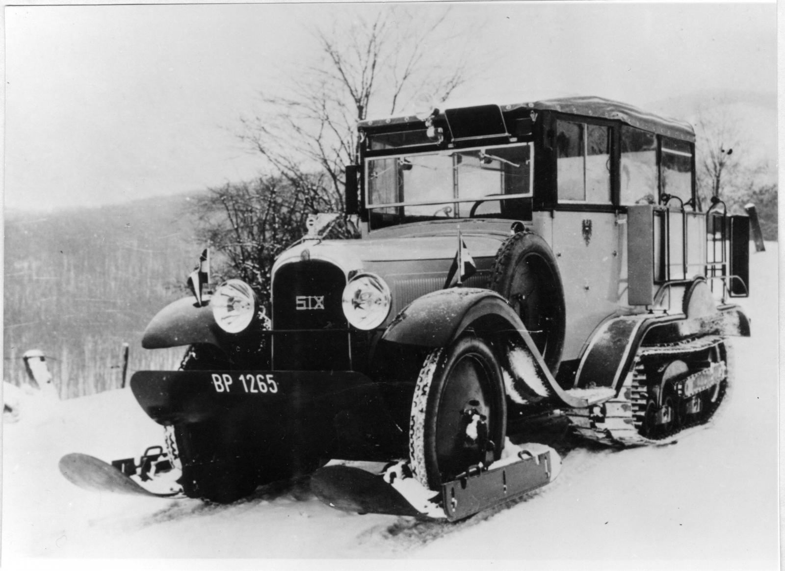 Autochenille C6 Correios austriacos