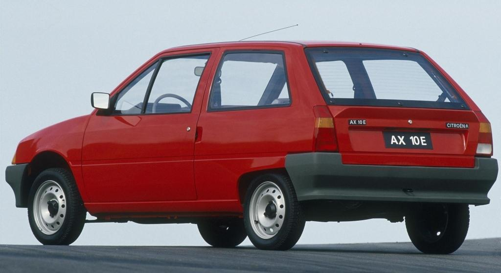 AX 3 portes de 1986 3/4 AR