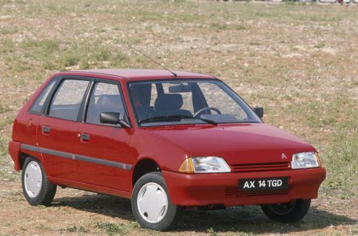 AX 14 TGD 5 portes de 1990 3/4 AV