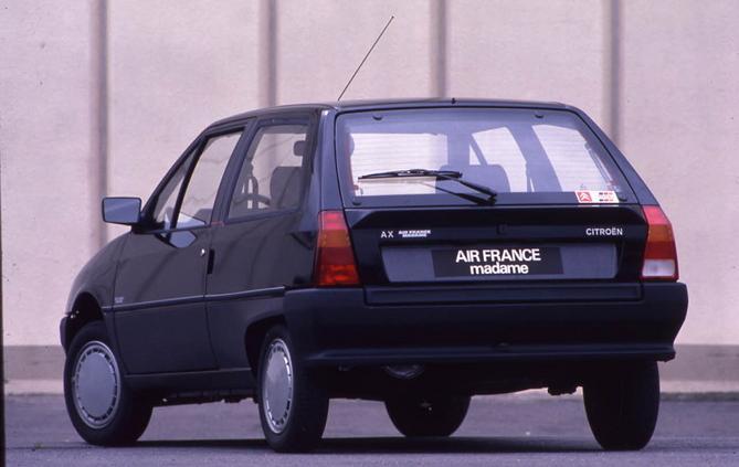 AX Air France Madame 3 Portes de 1988 3/4 AR