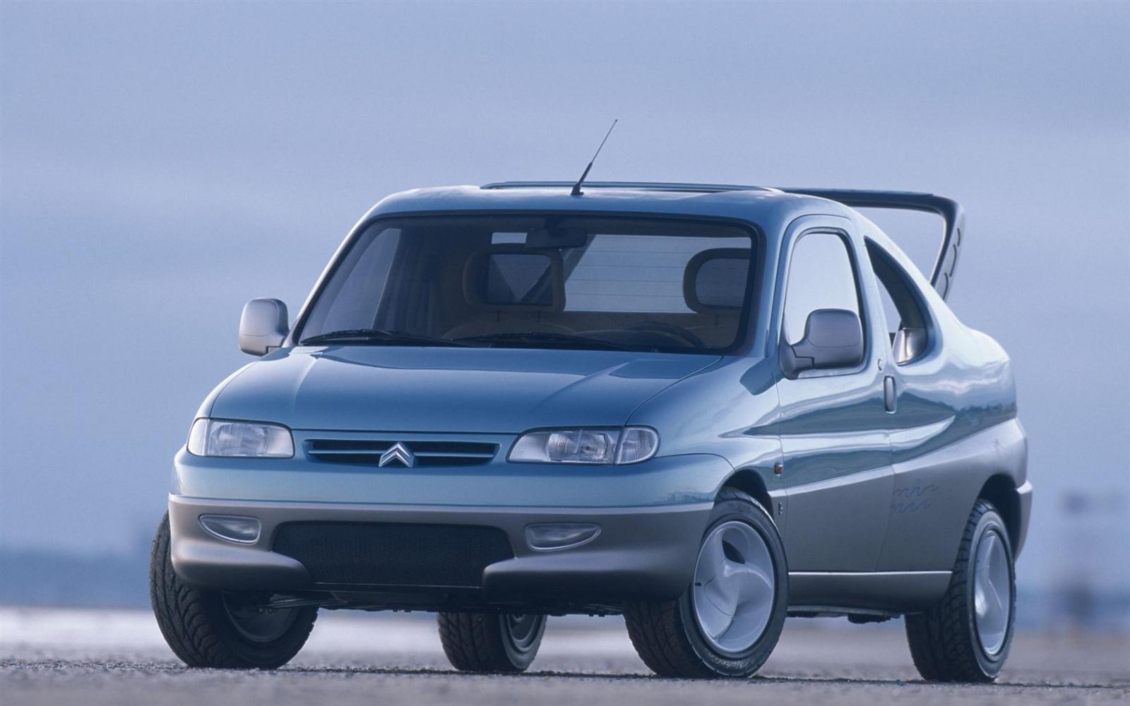 Berlingo Plage 1996 concept face avant