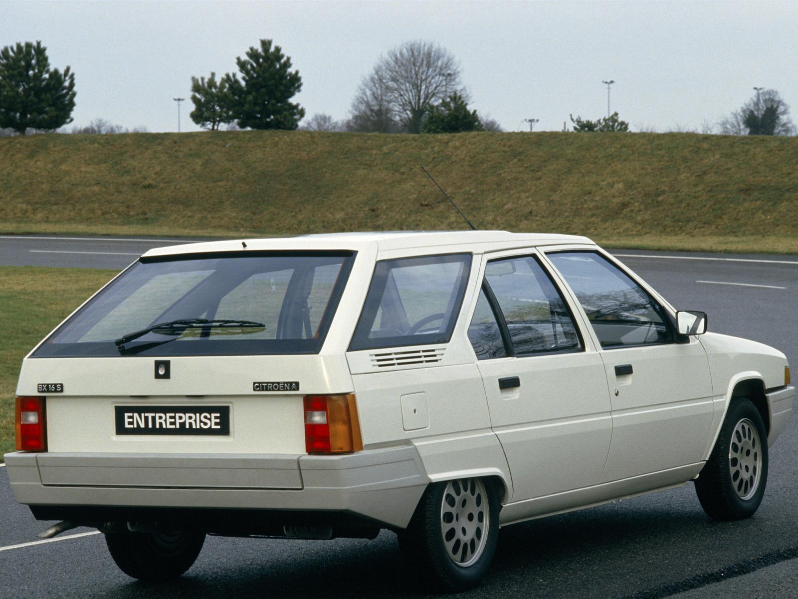 BX 16 S entreprise 1985