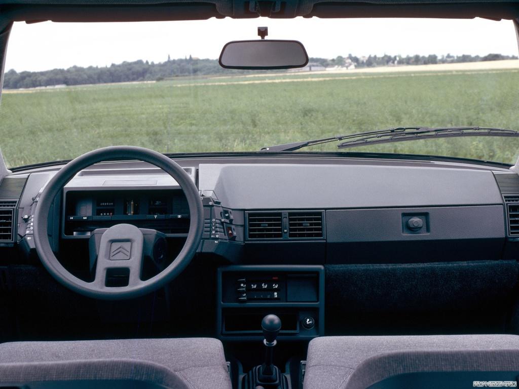 BX 16 TRS 1982 intérieur