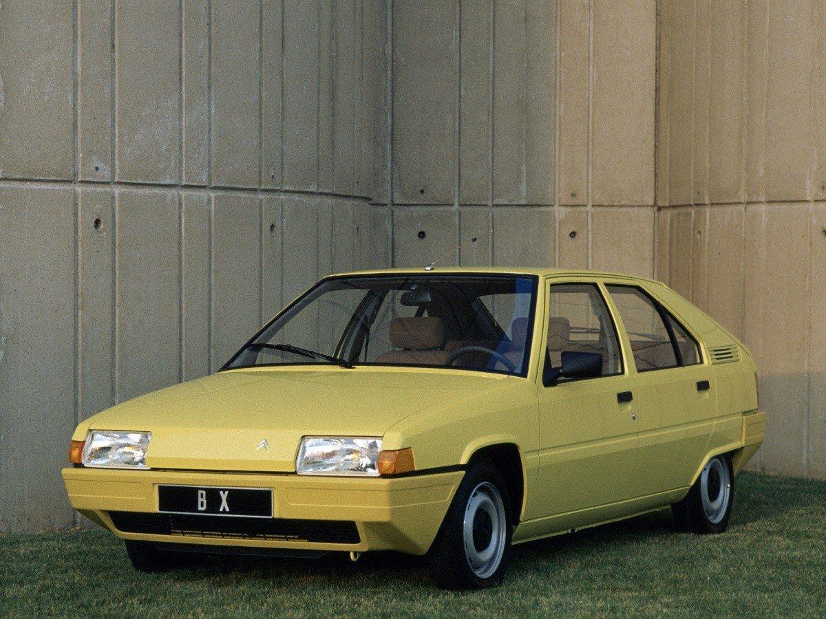 BX 1982 remplaçante de la GSA en attendant la ZX