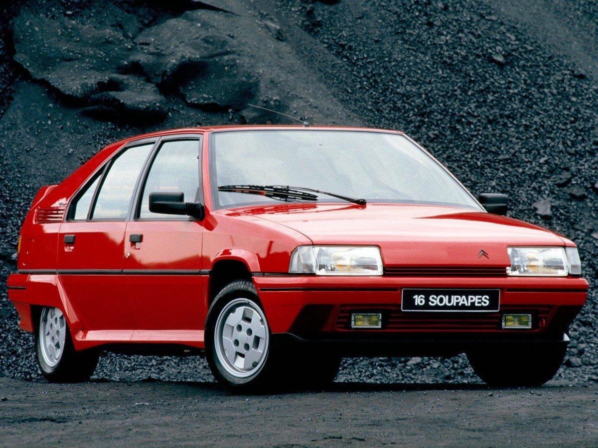 BX 19 GTI 16S 1987 3/4 avant