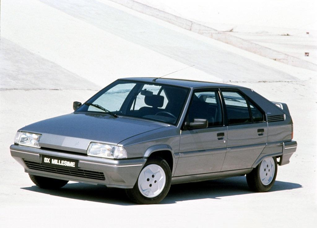 BX Millesime 1990 modèle précédant la Xantia