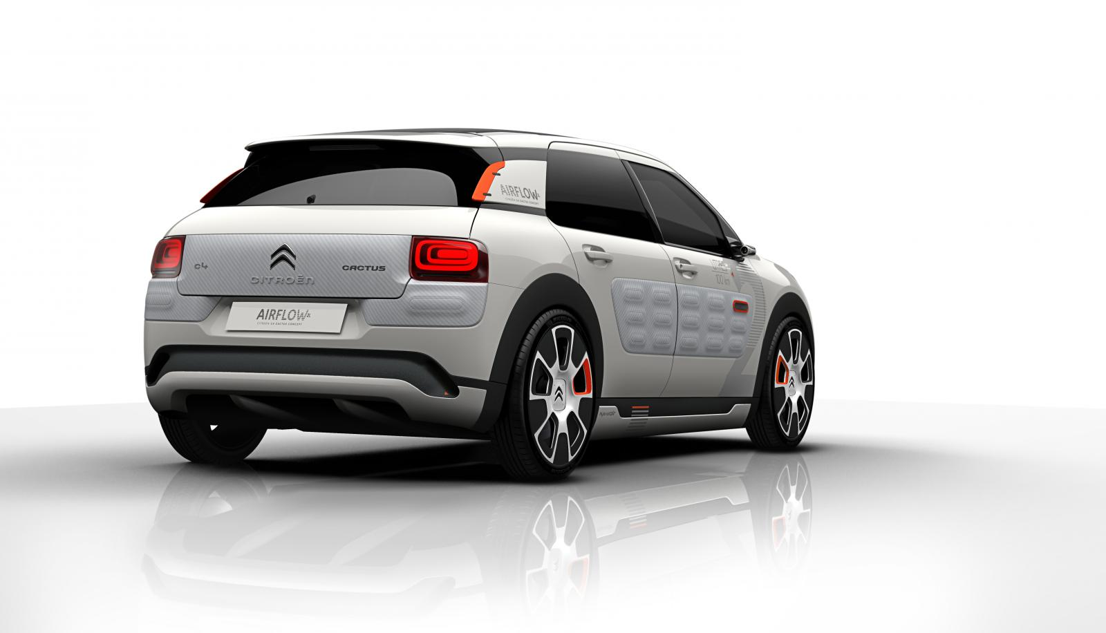 Concept-Car C4 Cactus Airflow 2014 vue arrière