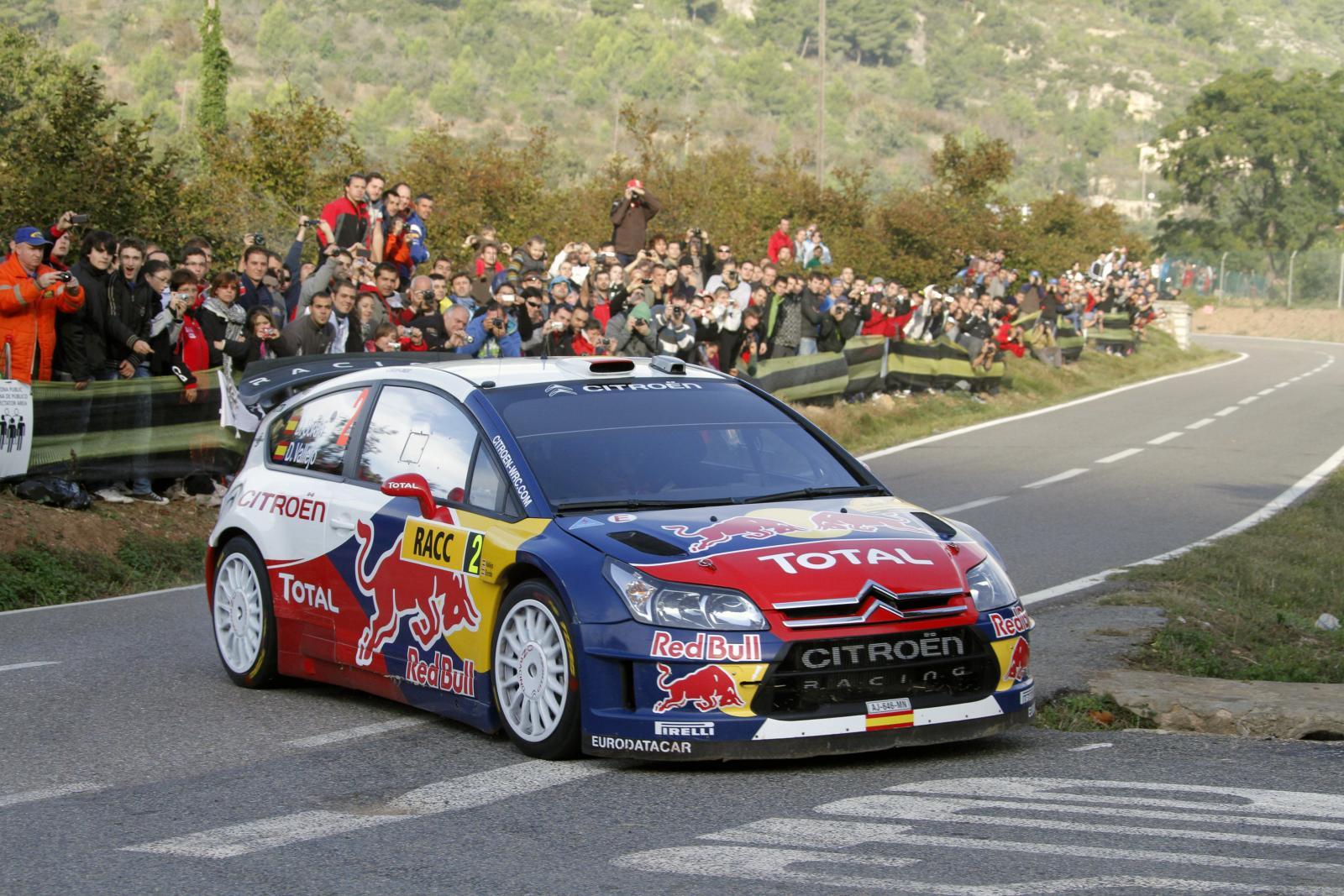 C4 WRC 2008