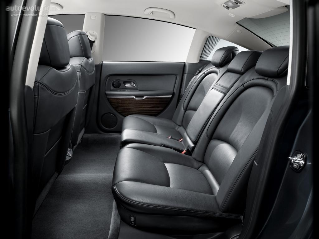 C6 2005 sièges arrière