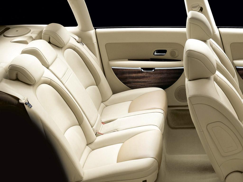 C6 V6 HDI exclusive 2005 intérieur lama place arrière