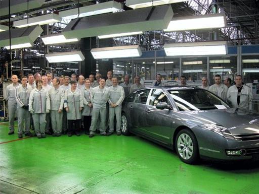 C6 V6 HDI exclusive 2012 à Renne dernière produite