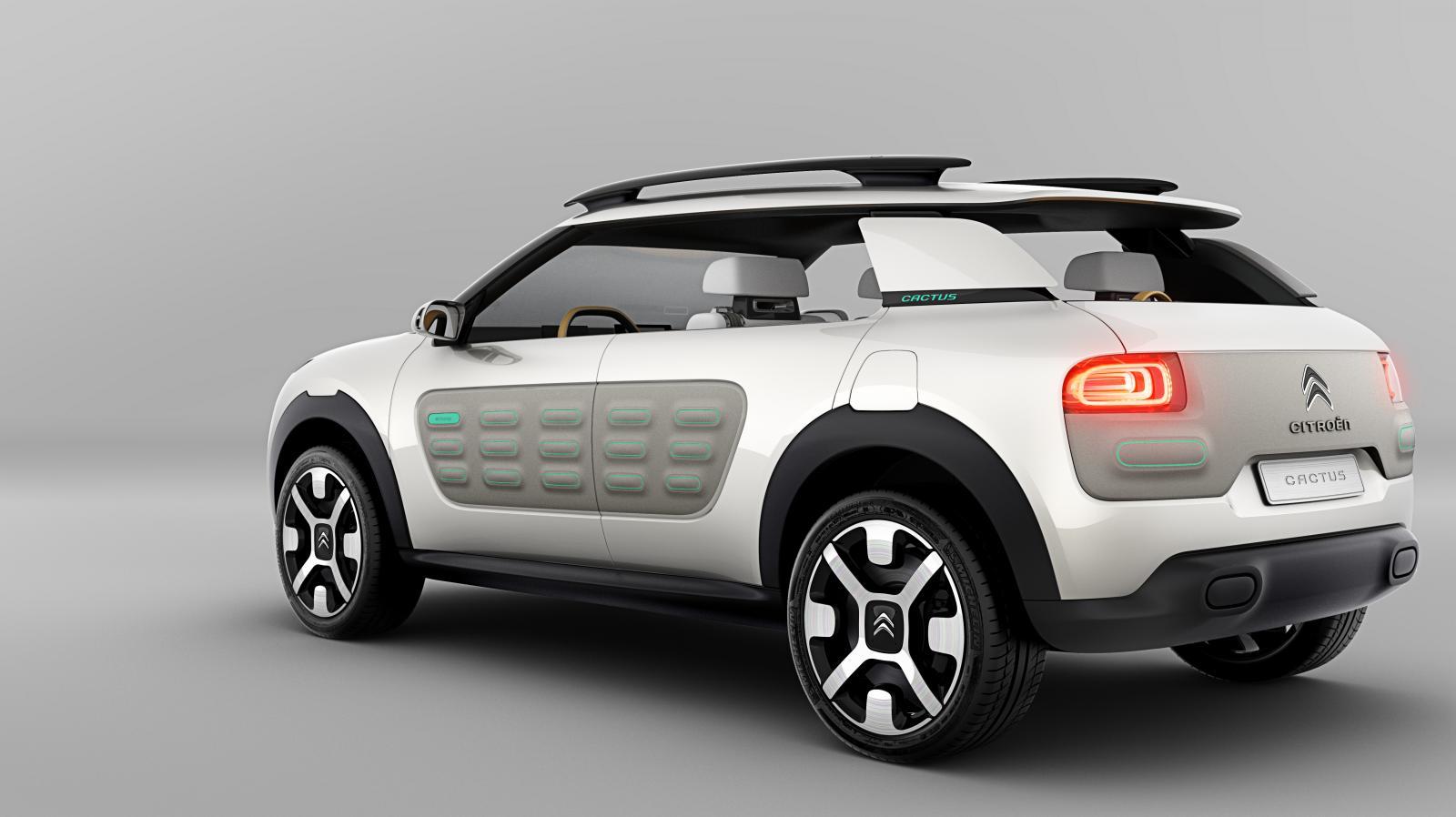 Concept-Car Cactus 2013 3/4 arrière