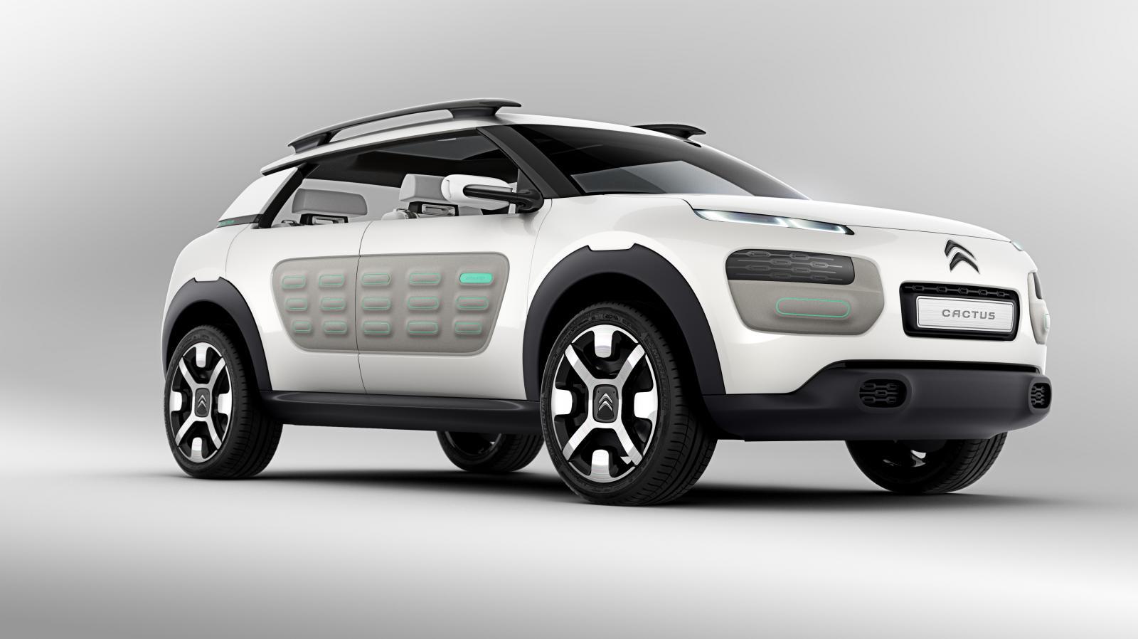 Concept-Car Cactus 2013 3/4 avant