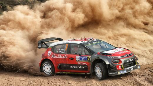 C3 WRC au rallye de Mexico 2017