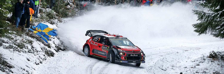 C3 WRC au Rallye de Suède 2017