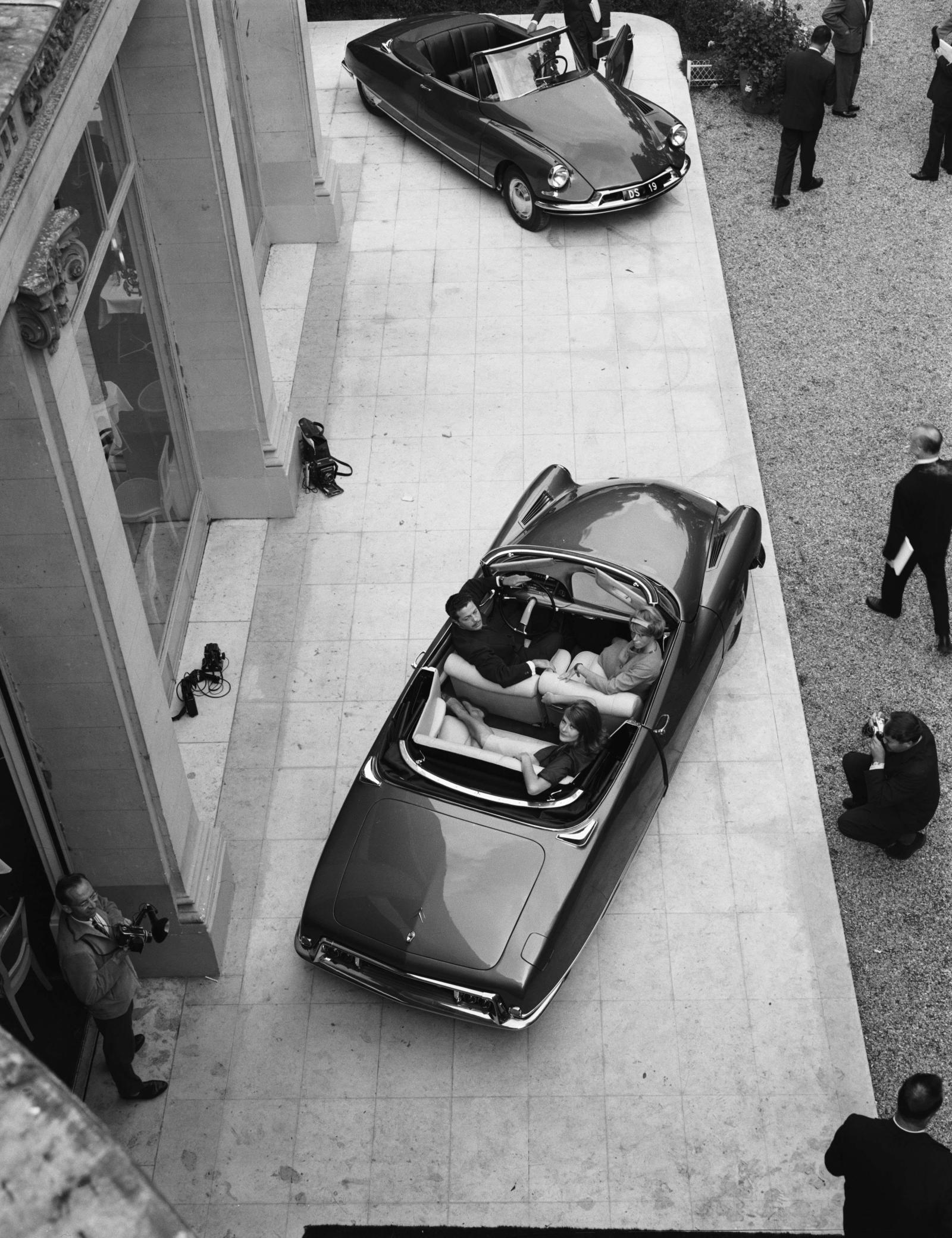 Citroën DS 19 Conversível - Apresentação para a imprensa - 1961