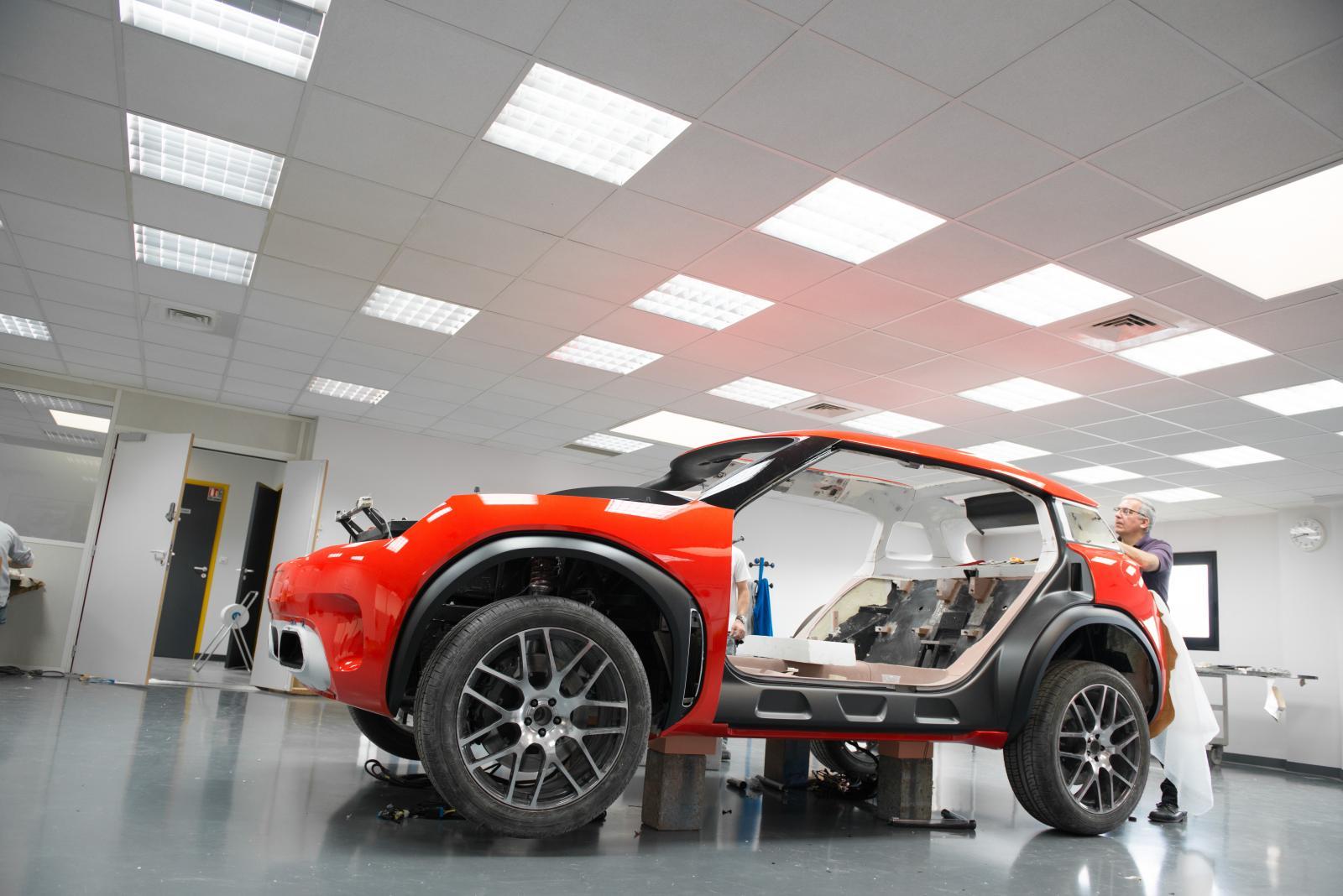 Création du Concept Aircross