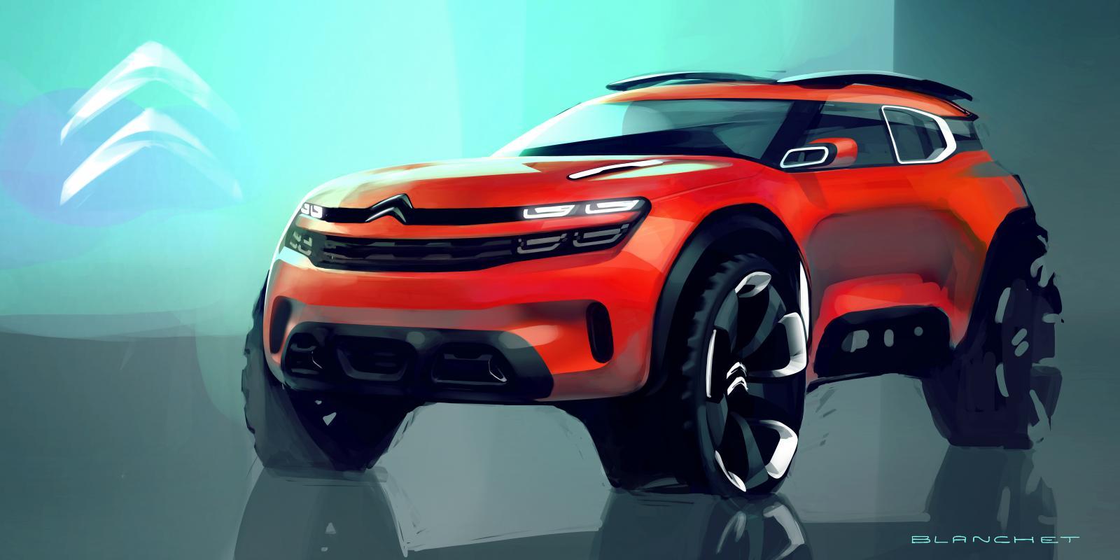 Maquette Concept Aircross