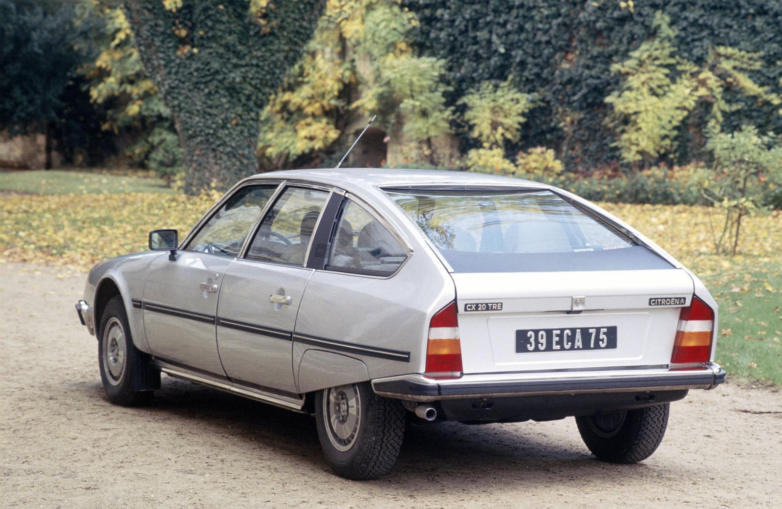 CX 20 TRE 1983 3/4 arrière