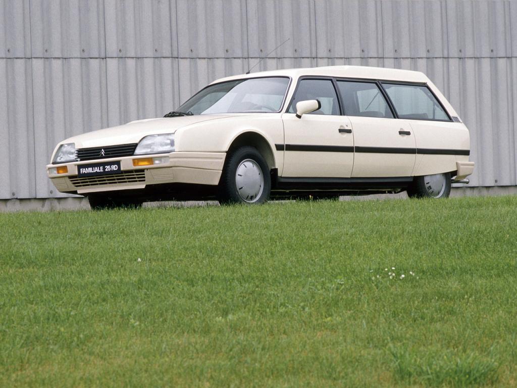 CX 25 RD Familiale 1985 3/4 avant