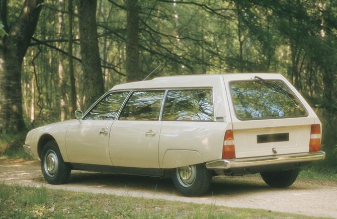 CX Confort 2000 Break 1976 3/4 arrière