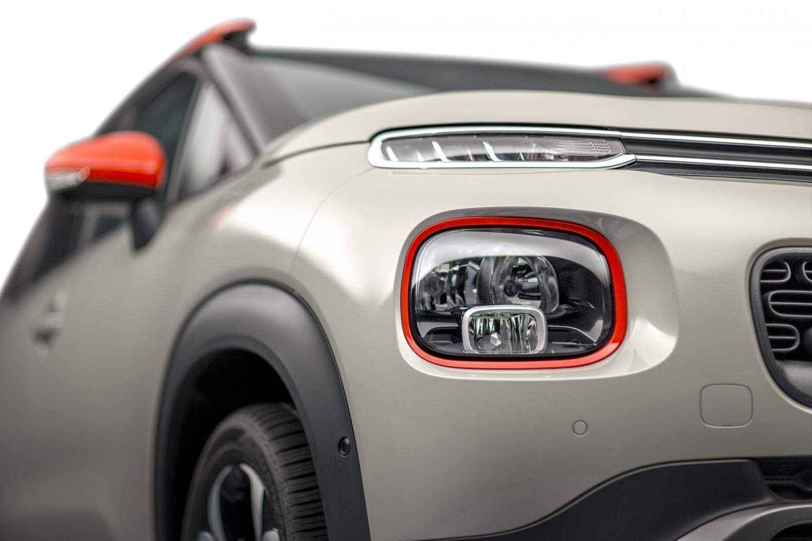 SUV Compact C3 Aircross - 3/4 dianteira